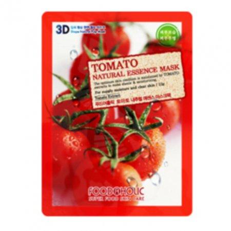 F_3D입체형상 천연펄프 에센스 마스크팩10매 토마토