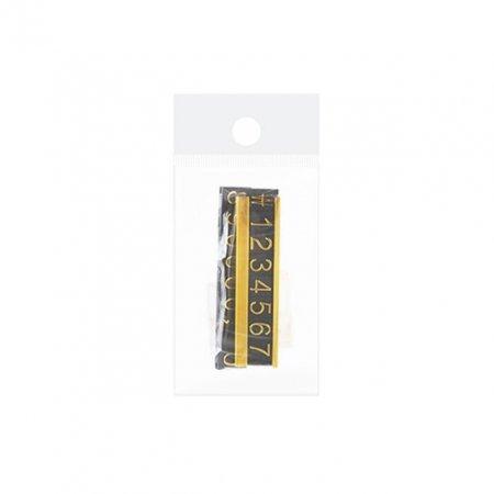 아트사인 프라이스칩(스탠드/금색) 3637