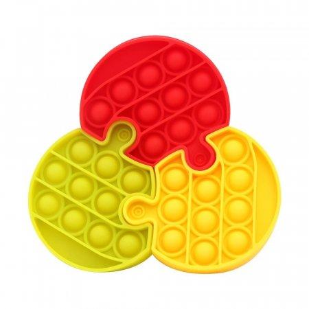 3000 써클 퍼즐 버블 팝잇 뽁뽁이 푸쉬팝 3PCS