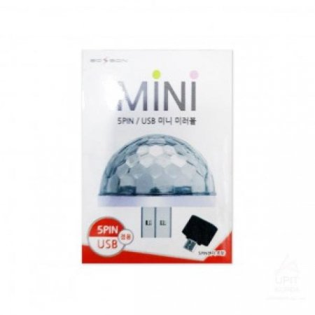 에디슨 USB MINI 미러볼 2693