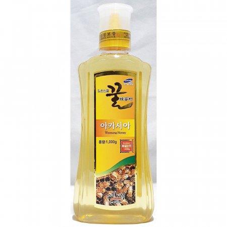 아카시아 꿀 튜브 우성 1kg x12개 가정 업소용 벌꿀