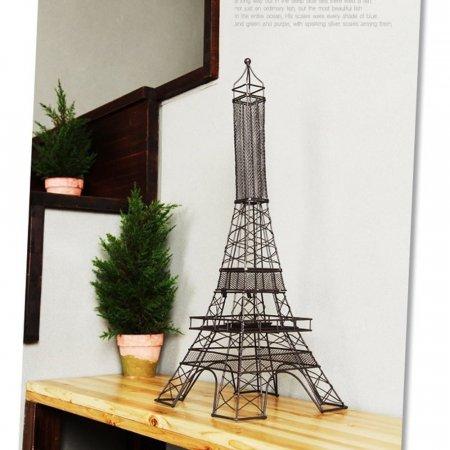 로멘틱 분위기 연출 에펠 타워 철제 모던 캔들 촛대