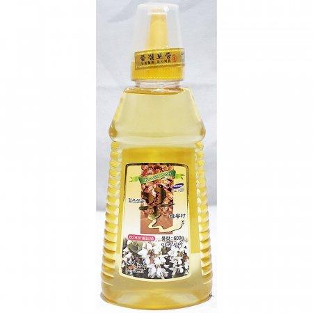 아카시아 꿀 튜브 우성 600g x15개 가정 업소용 벌꿀