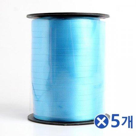 선물포장 리본끈 롤 457m-색상랜덤x5개 리본장식