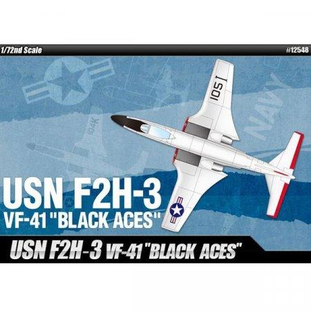 (아카데미과학) 미해군 F2H-3 VF-41 블랙에이스 1_72