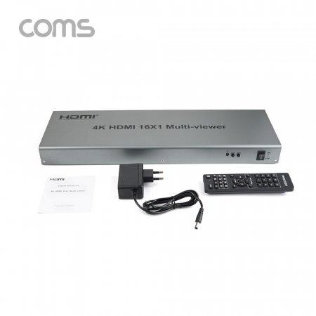 영상 HDMI 화면 분할기 16x1 16 입력/1 출력