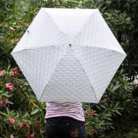 초경량 미니 호피무늬 5단 우산