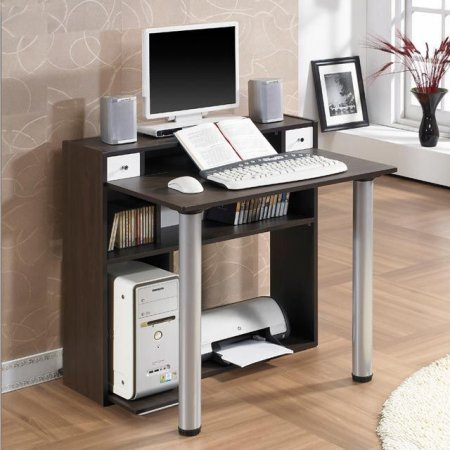 컴퓨터 책상 접이식 거실 1인용 공부 테이블 세트