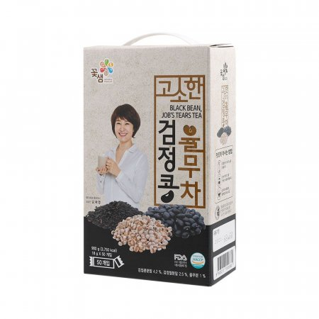 (도매전용) 꽃샘 고소한검은콩율무차50T 2곽