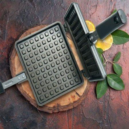 키친아트 와플 메이커 와플팬 전기 그릴팬 18x15cm