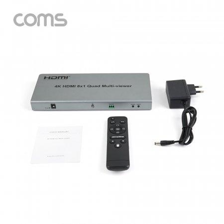 영상 HDMI 화면 분할기 8x1 8 입력/1 출력