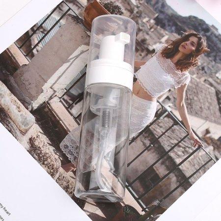50ml 투명 거품 생성 공병 플라스틱 공용기 버블