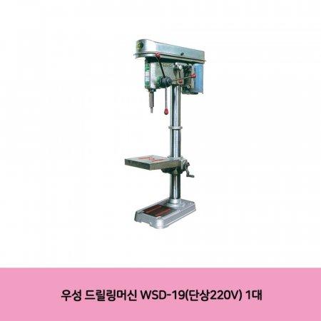 우성 드릴링머신 WSD-19(단상220V) 1대
