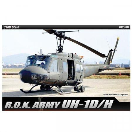 (아카데미과학) 대한민국육군 UH-1D_H (1_48) 12308