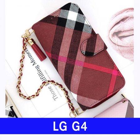 LG G4 체크지퍼 kk클러치 F500 케이스
