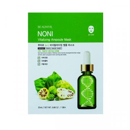 BTM 노니 바이탈라이징 앰플 마스크팩 25g 10매