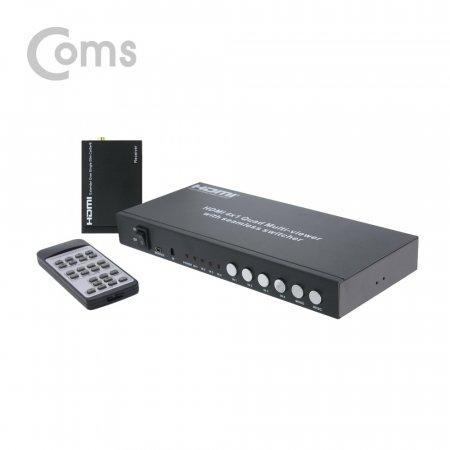 HDMI 화면 분할기 to LAN 수신기