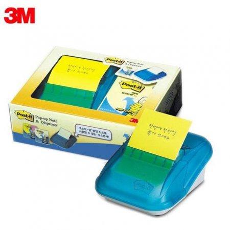3M 포스트잇 팝업 디스펜서 팩(리필 4패드) KR-2003