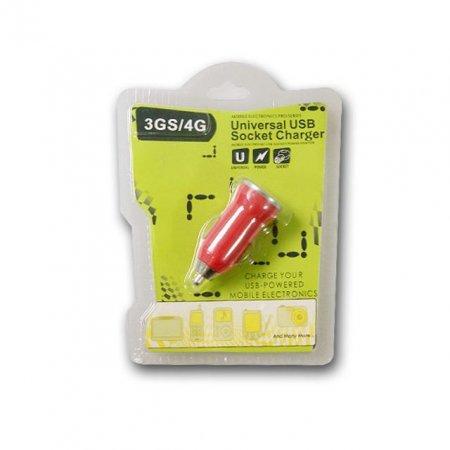 IS 태극 차량용 USB충전잭 빨강
