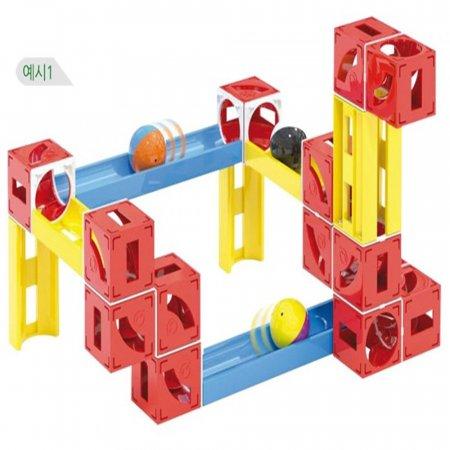어린이 장난감 연결 조립식 큐브 터널 큐보가 50p