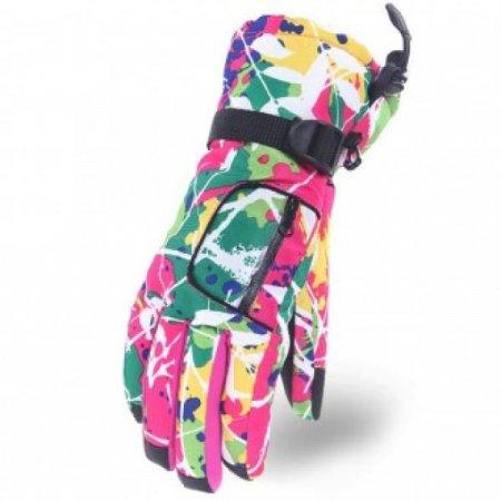 히든포켓 생활잡화 스키장갑(핑크) 아우터