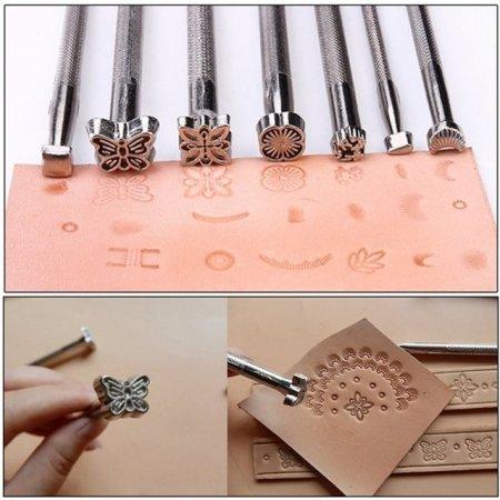가죽스탬프 세트 가죽 공예 다양한 문양 패턴 각20PCS