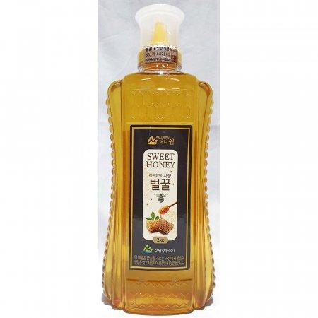 허니쉼 사양 벌꿀 강원양봉 2kg 업소용 식당 꿀 업소