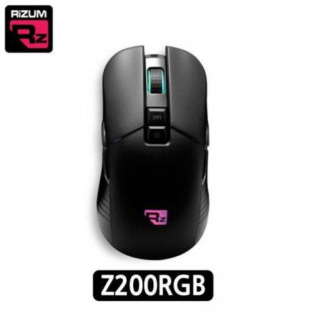 유선 게이밍 마우스 (Z200RGB) (블랙)