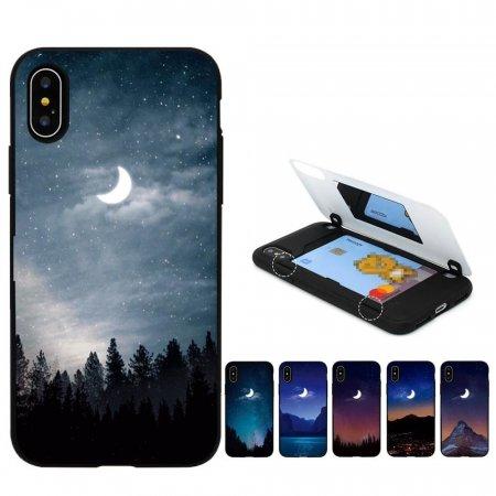 Tcz C밤하늘달 갤럭시S20FE 케이스 G781 자석 카드