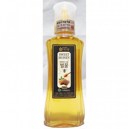 허니쉼 사양 벌꿀 강원양봉 500g x5개 업소용 식당 꿀