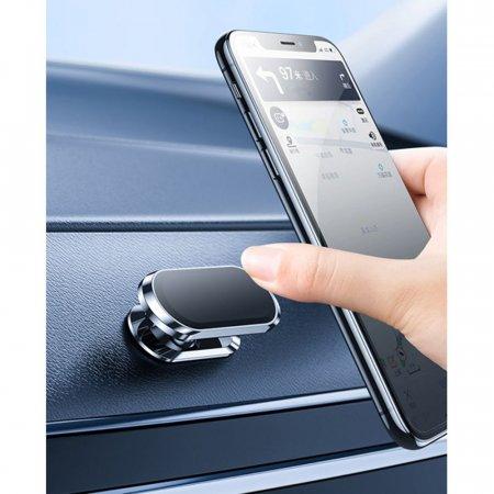 일자형 1초 자석거치대 차량용 스마트폰거치대 주방