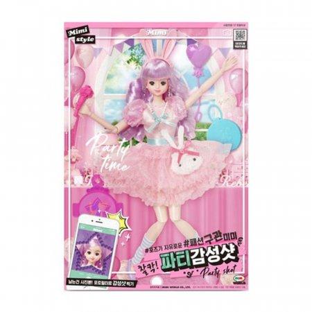 패션 구관 미미 파티 감성샷 인형 놀이 장난감