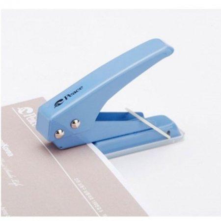 1공 펀치 블루 사무용품 펀칭 자료 정리 보관 용품