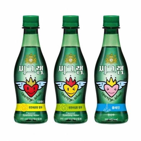 씨그램(레몬/350ml/24입)