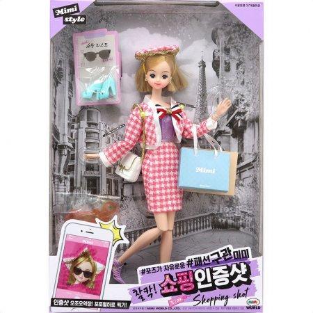 패션 구관 미미 찰칵 쇼핑인증샷 인형 놀이 장난감