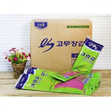 (BOX)크린랩고무장갑(특대)/100개입