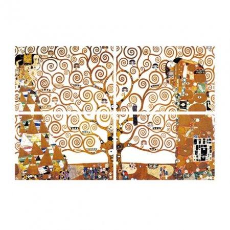 액자 스티커 명화포인트 클림트생명의나무 FM-16401
