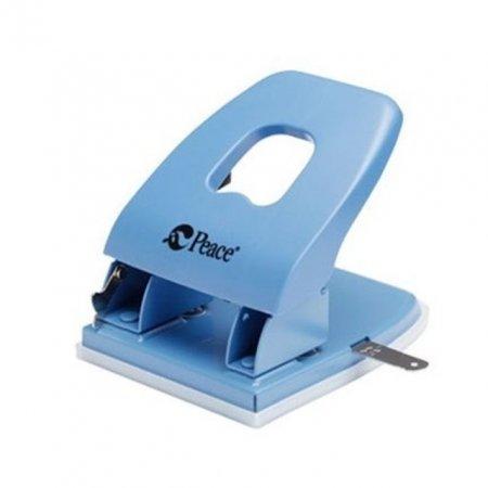2공 펀치 구멍 뚫는 기계 70mm 80mm 겸용 블루