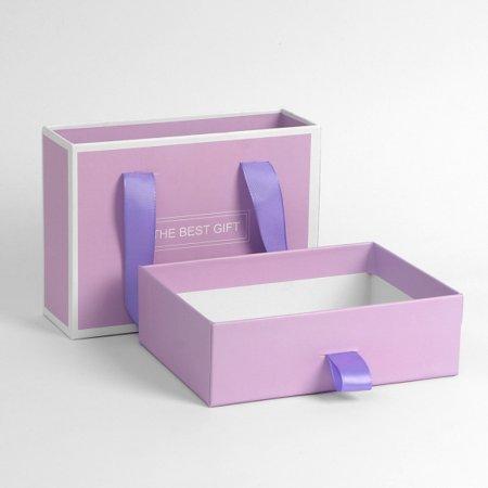 GIFT BAG 선물상자 기프트백 1개 퍼플 17x12.5cm