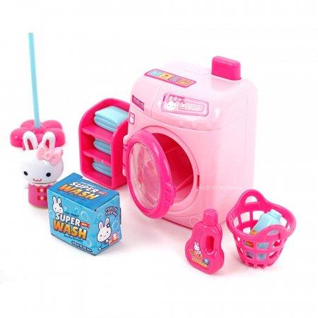 핑크래빗 세탁기 카페놀이 소꿉놀이 역할놀이
