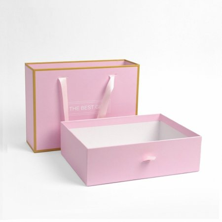 GIFT BAG 선물상자 기프트백 1개 핑크 23.5x17cm