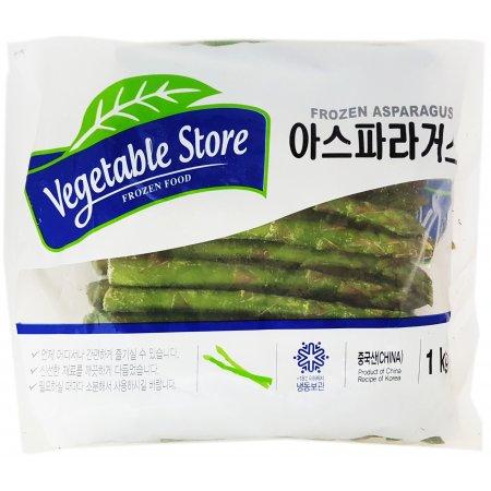 가공식품 아시아 냉동 아스파라거스 1kg 4봉지 삼아 요리