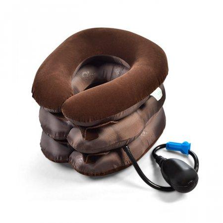 목 넥 마사지운동 견인기 보호대