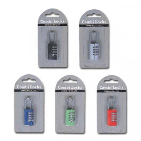 콤비락)자물쇠(CL-401C/B)-색상임의배송 자물쇠