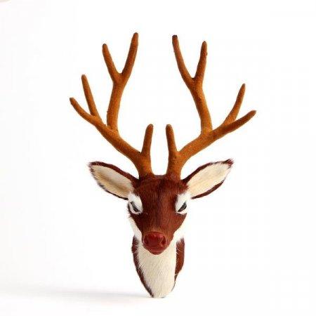 크리스마스 벽장식 밤비 사슴머리 벽걸이장식