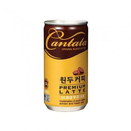 롯데칠성 칸타타 캔 프리미엄 라떼 175ml x 30
