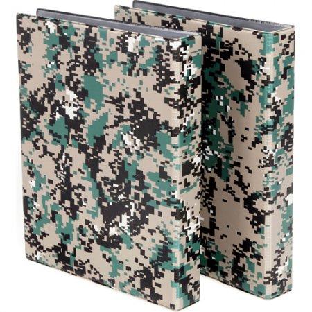 디지털무늬군용면장철(A4/PVC/60P)