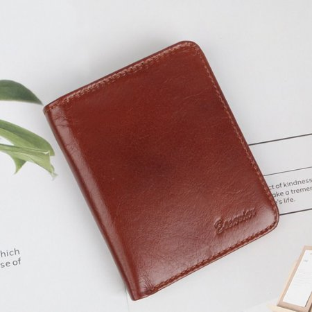 남자 학생 캐주얼 패션 디자인 고급 지갑 택 중지갑