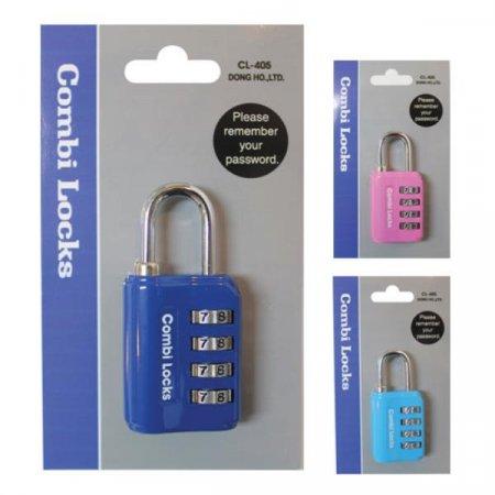 콤비락)자물쇠(CL-405)-색상임의배송 자물쇠