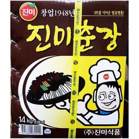 업소용 중식 식자재 주방 재료 진미식품 춘장 14kg